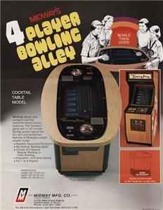 4-Player Bowling Alley (1979) Online