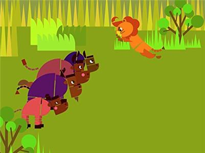 Shapes - Stories for Children The Four Oxen and the Lion (2016– ) Online