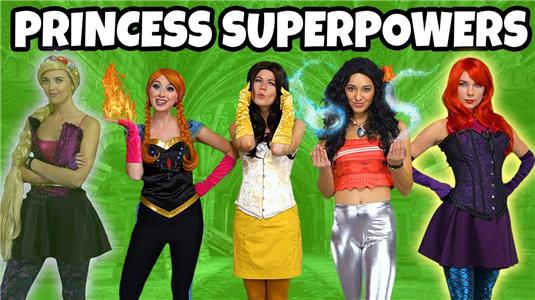 Totally TV Disney Princesses Get Superpowers (2017– ) Online