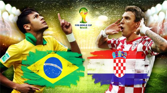 2014 FIFA World Cup Brazil Group A: Brazil vs Croatia (2014) Online