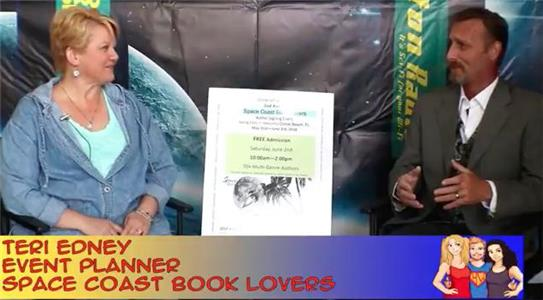 Hangin with Web Show Rockets, Beaches and Books with SCBL OrganizerTeri Edney: interview on the Hangin With Web Show (2015– ) Online