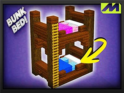 Clip: Mine Block: Survival How to make a bunk bed (2012– ) Online