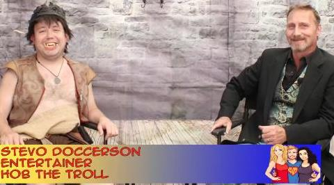 Hangin with Web Show Trolling the Ren Fair with Stevo Doccerson: an interview on the Hangin With Web Show (2015– ) Online