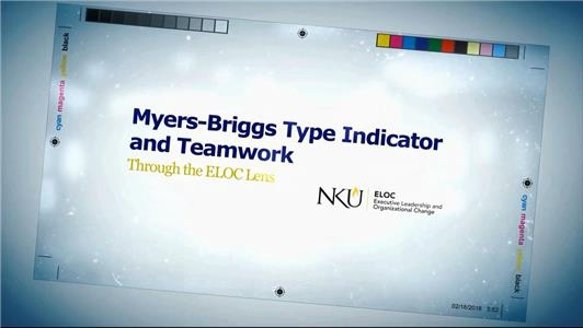 Myers-Briggs Type Indicator and Teamwork: Through the ELOC Lens  Online