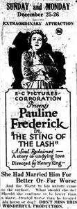The Sting of the Lash (1921) Online
