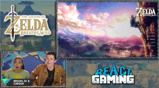 Gaming THE LEGEND of ZELDA: BREATH of the WILD (Teens React: Gaming) (2014– ) Online