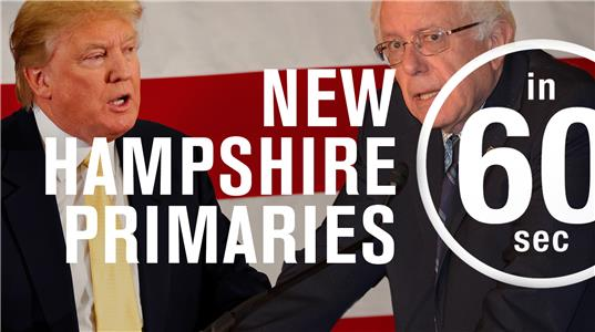 In 60 Seconds What New Hampshire means for the anti-establishment presidential candidates (2016– ) Online