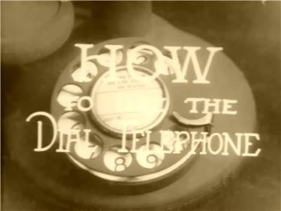 How to Use the Dial Telephone (1927) Online