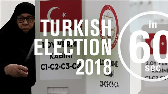 In 60 Seconds Turkish presidential election 2018 (2016– ) Online