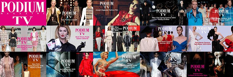 Podium TV Paris Fall Winter 2015-2016 Ready-to-Wear (2015– ) Online