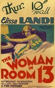 The Woman in Room 13 (1932) Online