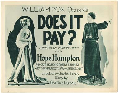 Does It Pay? (1923) Online