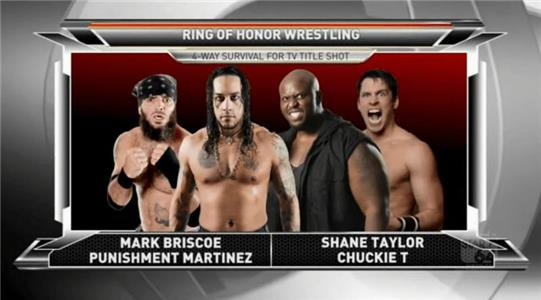 Ring of Honor Wrestling Four Corner Survival Match to Crown Number One Contender for World TV Title! (2009– ) Online
