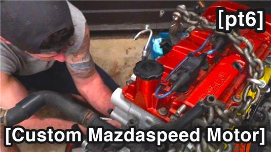 Mils Garage Turbo - Exhaust Manifold & AWR Motor Mounts - Mazdaspeed Protege5 Build - MSP5 pt7 (2015– ) Online