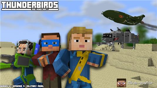 Thunderbirds Are Minecraft Military Peril (2015– ) Online