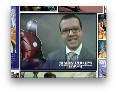 HQCia Interview Marvel Int'l President (2008–2009) Online
