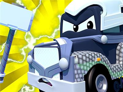 Super Truck of Car City Special Super Heroes - Carl is Thor/The Jeep Truck/The Winch Truck/The Shop Window Truck (2016–2018) Online