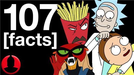 107 Facts 107 Adult Swim Facts (ToonedUp #192) (2015– ) Online